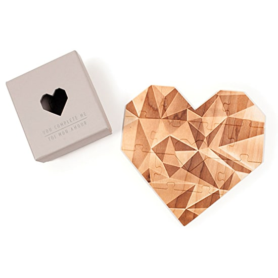 Wooden Heart Jigsaw Puzzle