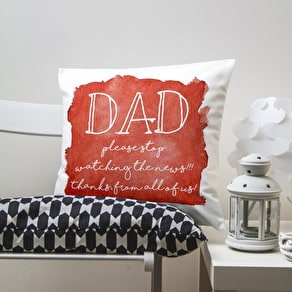 Personalised Dads Cushion