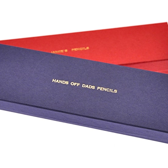 Personalised Gift Boxed Pencils