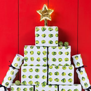 Brussels Sprouts Sticky Tape