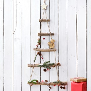Hanging Woodland Christmas Tree