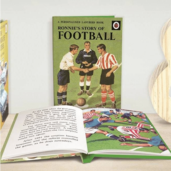 Personalised Football Story Book