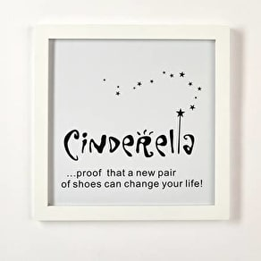 Cinderella Framed Wall Art