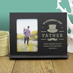 Astoundingly Good Father Personalised Frame
