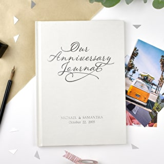 Luxury Personalised Anniversary Journal