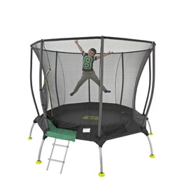 8ft TP Genius Octagonal2 Trampoline with Igloo Door Entry