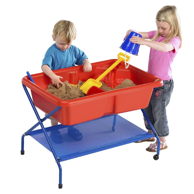 TP Rockface red sand & water tray set