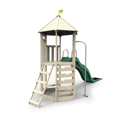 TP Castlewood Tower with CrazyWavy Slide - FSC