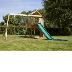 TP Kingswood2 Tower and Swing Arm (with 1 TP Junior Seat and 1 TP Deluxe Swing Seat) - FSC