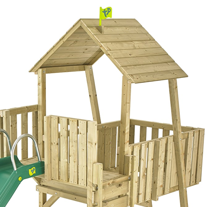 TP Kingswood Wessex Wooden Climbing Frame & Slide-FSC<sup>®</sup>